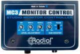 Controlador de monitor pasivo con subwoofer, salidas para auriculares, agregado un solo circuito a la ruta de la señal del monitor