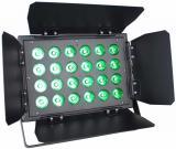 Paleta Led con Barndoor, 24x10W, RGBWAUV 6 en 1, consumo 240W, Angulo Beam 25 grados