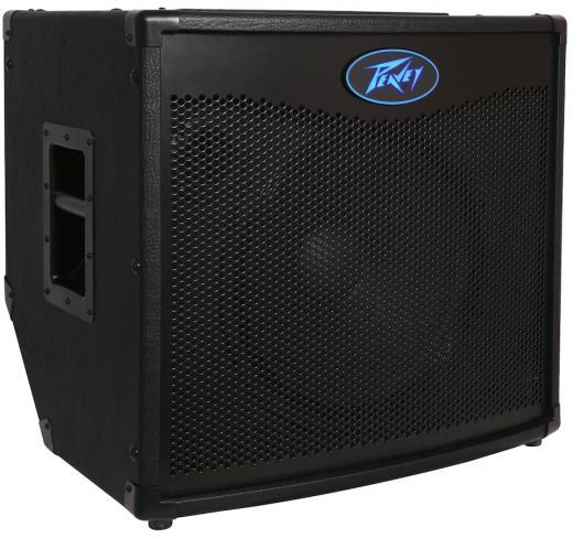 """Amplificador combo de bajos de 600 watts y 1x15 """", interruptor brillante e interruptor activo / pasivo, eq grafico de 7 bandas, altavoz cerámico de 15 """""""