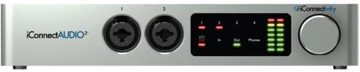 Interfaz de audio / MIDI USB de 2/4/24 bits / 96 kHz compatible con clase con 2 preamplificadores de micrófono, configuración de DI y Phantom conmutables independientemente, control de pantalla táctil y software DAW Ableton Live Lite (Mac / PC)
