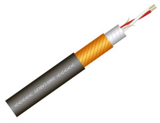 Cable DMX-512, cableado de luces y efectos especiales, 22 AWG, cable blindado