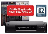 Acelerador DSP QUAD de 4 núcleos Thunderbolt 2, 3 plugins adicionales a tu elección + bundle de plugins UAD con paquete Analog Classics - Mac/PC AAX 64, VST, AU, RTAS.