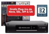 Acelerador DSP OCTO de 8 núcleos USB 3 y bundle de plugins UAD con paquete Analog Classics - PC AAX 64, VST, RTAS.