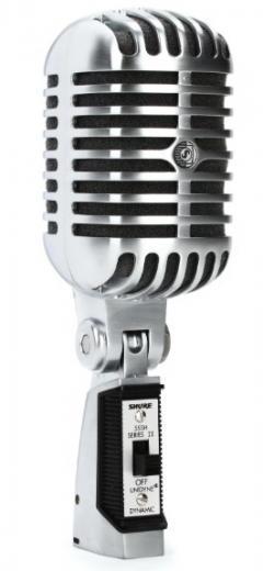 Micrófono de voz dinámico cardioide con interruptor