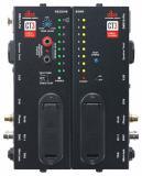 Cable Tester de 2 piezas con RJ45, RJ11, MIDI, Speaker Twist, XLR, RCA, BNC, DIN, TRS, TS, DMX y conectores Banana