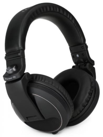 Auriculares de DJ circumaurales cerrados con controladores de 40 mm, con rango de frecuencia de 5Hz-30kHz, cable desmontable y bolsa de transporte