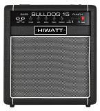 """15 watts de potencia, altavoz de 8 """", Entradas Hi / Low, ecualizador de 3 bandas, controles de presencia, volumen principal, conector para auriculares"""