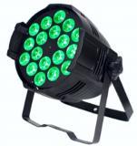 Par Led RGBW , Fuente de luz: lámparas LED 18 × 8W (4 en 1), Ángulo de haz: 25 ° / 30 °