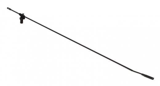 Micrófono de condensador mini cardioide de diafragma pequeño con brazo de fibra de carbono de 1.2 mts de longitud, condensador mini cardioide M1250 de alta calidad