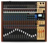 Grabador multipista de 24 canales / Mezclador analógico de 22 canales con interfaz de audio USB de 24 entradas / 22 salidas y efectos incorporados