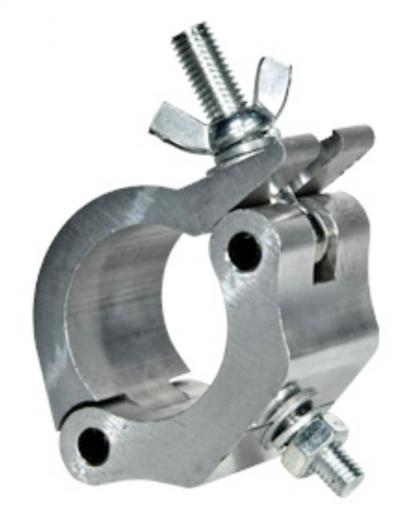 """Clamp simple, diseñada para trabajo pesado, para tubos de 2"""" de diámetro, Soporta hasta 500 Kgs. / 1.100 Lbs"""