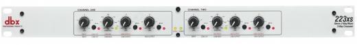 Estéreo de 2 vías, operación mono de 3 vías, filtros Linkwitz-Riley de 24dB / octava, entradas y salidas XLR, controles de nivel individual en todas las salidas.