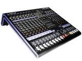 Diseño ultra-compacto que soporta hasta 12 entradas de Mic/Línea con conectores XLR/TRS balanceados, 1 canal estéreo y 2 subgrupos, procesador de efectos DSP de 24-bit con 16 programas