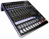 Diseño ultra-compacto que soporta hasta 8 entradas de Mic/Línea con conectores XLR/TRS balanceados, 1 canal estéreo y 2 subgrupos, procesador de efectos DSP de 24-bit con 16 programas