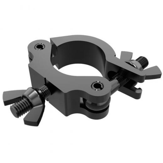 1.37 pulgadas de alta resistencia, estilo de gancho,  carga máxima 75 Kgs., construccion aluminio 6061-T6