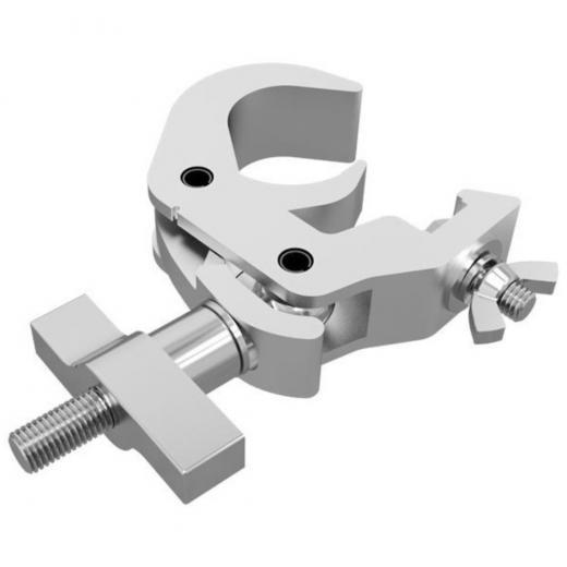 2 pulgadas de alta resistencia, estilo de gancho, mango en T,  carga máxima 250 Kgs., construccion aluminio 6061-T6
