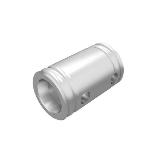 Extension conica, 100 mm, 2 mm de grosor heavy duty, cromado, construccion aluminio 6061-T6