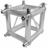 Corner Truss, Tipo Box 2900x290 mm, para truss cuadrados 290x290 mm, cromado matte, conectores incluidos, construccion aluminio 6061-T6