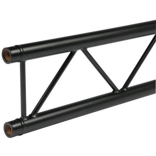 Truss Plano 2000x290 mm, 3 mm de grosor heavy duty, negro matte, 2 Mts de longitud, construccion aluminio 6061-T6
