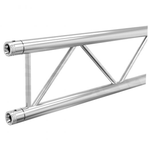 Truss Plano 3000x400 mm, 3 mm de grosor heavy duty, cromado, 3 Mts de longitud, construccion aluminio 6061-T6