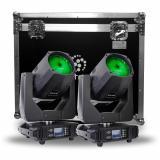 Lampara Osram 260W, Temperatura de color: 8500K, Ángulo de haz: 0-38°, Pantalla de control Touchscreen, rueda de gobos, prisma, rotacion ajustable