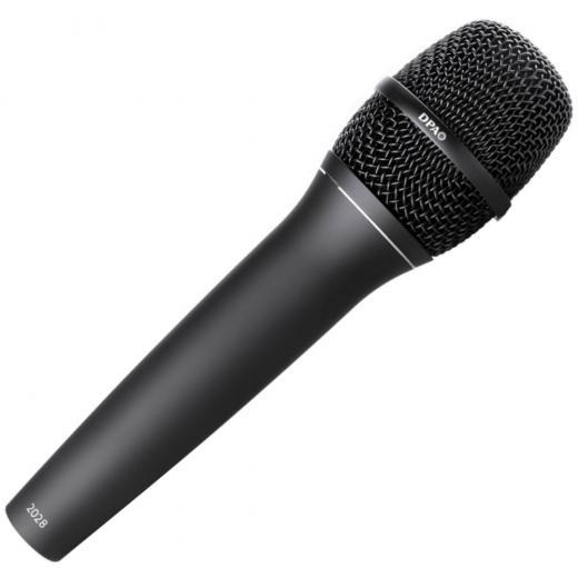 Micrófono condensador de mano supercardioide, reproducción vocal de prácticamente cualquier intérprete vocal, respuesta plana