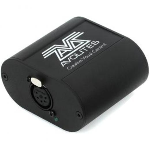Dongle de iluminación USB a DMX con licencia de software Avolites Titan - PC con Windows, funciones como Pixelmapper, Quicksketch y Synergy
