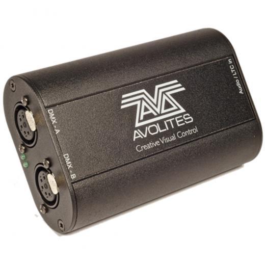 Dongle de iluminación USB a DMX con licencia de software Avolites Titan - PC con Windows, funciones Synergy, Key Frame Shapes y mapeo avanzado de píxeles, así como el muy solicitado control USB Midi.