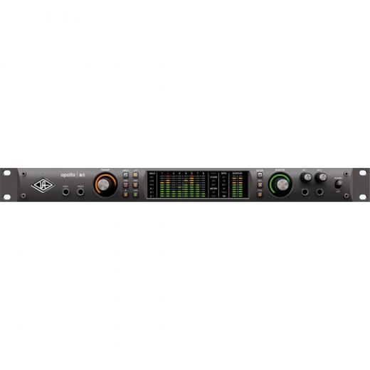 Interfaz de audio Thunderbolt 3, 16 entradas / 22 salidas, 24 bits / 192 kHz con procesador central HEXA de 6 núcleos