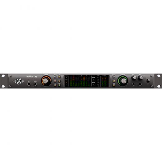 Interfaz de audio Thunderbolt 3, 18 entradas / 24 salidas, 24 bits / 192 kHz con procesador central HEXA de 6 núcleos, conversión AD / DA de clase Elite, 4 preamps unison