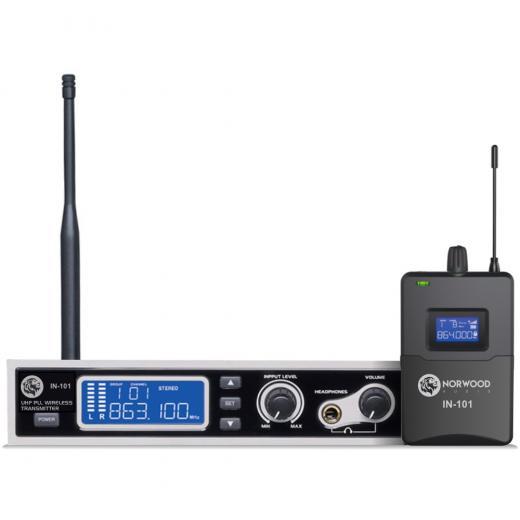 Circuito de bloqueo de fase UHF, radiación armónica estable y baja, ruido ultra bajo, con función de tono estéreo y mono