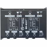 """Para aplicacion de sonido directo y estudio, entrada de alta impedancia 1/4"""", switchable ( -0db, -20dB, -40dB )  salida XLR Balanceada"""