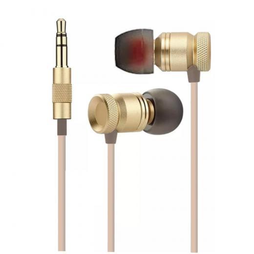 In-ear, diseño cerrado para el aislamiento del ruido de escenario, rango dinamico, incluso a frecuencias muy bajas