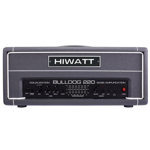 220 watts de potencia, Entradas pasivas / activas, Gain, Bass, Treble, Graphic EQ (7 bandas) , Master Volume, conector para auriculares, limitador incorporado.