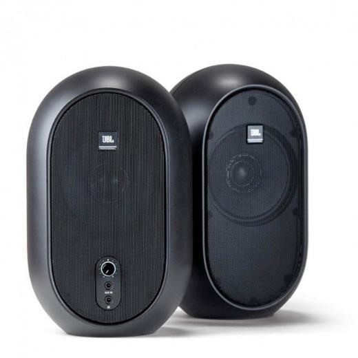 """Sistema de monitor compacto de 60 watts con controladores LF de 4.5"""", controladores HF de 3/4"""", salida de auriculares"""
