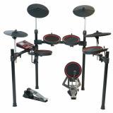 """Pads de malla con tecnología """"Superlink"""" de 10"""" en tambores y 12"""" en platillos"""