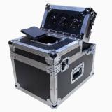 Compresor de 600W., Salida de 3.000 pies cúbicos por minuto, Panel de control con Diaplay LCD integrado y Control remoto inalámbrico.