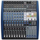 Mezclador analógico de 12 canales con grabador de 14 bits / 96kHz de 14 pistas, ecualizador de 3 bandas, efectos incorporados, interfaz de audio USB de 14 entradas / 4 salidas, Studio One Artist DAW y Studio Magic Plug-in Suite - Mac / PC