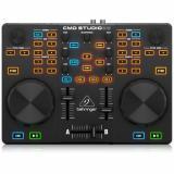 Controlador de 2 plataformas e interfaz de audio USB, software Image Line Deckadance 2 LE, funciones Cue, controles de transporte y salida de auriculares