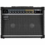 """Amplificador combo guitarra estéreo de 40 watts, parlantes 2x10"""" con reverberación y vibrato con control de velocidad y profundidad"""