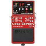 """Pedal de loop estéreo con 99 preajustes de memoria, entrada auxiliar de 1/8"""" y guía de ritmo, hasta tres horas de tiempo de grabación (en estéreo)"""