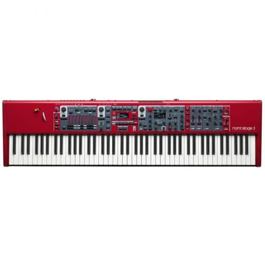 Piano de escenario digital de 88 teclas con generadores de sonido de sintetizador, órgano y piano y memoria de 2GB para Nord Piano Library