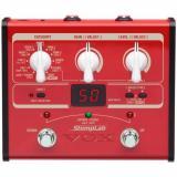 Pedal de efectos de bajo con amplificadores y efectos modelados, 100 presets
