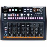 Drum Machine analógica con 10 sonidos de batería, secuencia de patrones de 64 pasos, modo de canción y efecto de distorsión