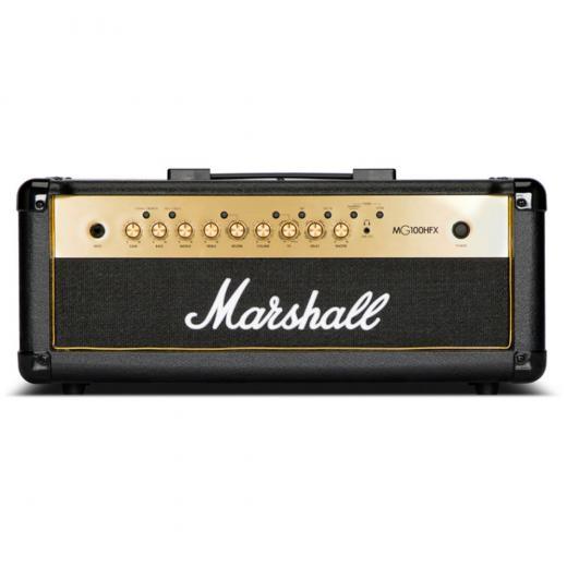 Cabezal de guitarra de 100 watts, 4 canales con ecualizador de 3 bandas, efectos digitales / reverberación, loops FX, entrada de línea, pedal, afinador y salidas de línea / auriculares emuladas por altavoces