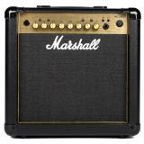 """Amplificador combinado de guitarra de 15 watt, 4 canales, parlante 1x8"""", ecualizador de 3 bandas, efectos digitales / reverberación, entrada de línea y salidas de línea / auriculares emuladas por altavoz"""