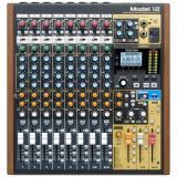 Grabador multipista de 12 canales / Mezclador analógico de 10 canales con interfaz de audio USB de 12 entradas / 10 salidas y efectos incorporados