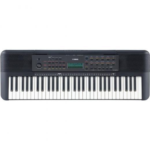 Teclado portátil de 61 teclas con 401 voces, polifonía de 32 notas, 143 estilos de acompañamiento, 112 canciones y Yamaha Education Suite