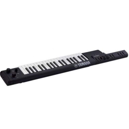 Keytar de 37 notas con mini teclas, rueda de modulación y conectividad MIDI Bluetooth, color negro