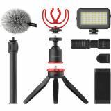 kit de video todo en uno para teléfono inteligente, Diseño liviano y compacto, Ideal para Youtuber, vlogger, camarógrafo